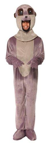 Meerkatze Kostüm mit Anzug und großem Kopf, Medium