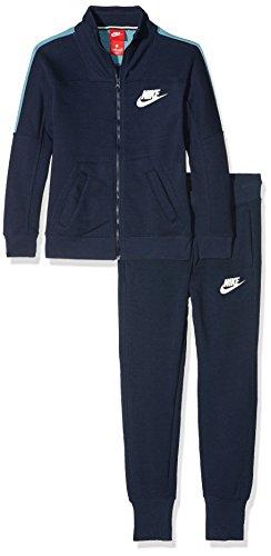 Nike 860069, Chándal para Mujer, BLU (Obsidian/Cerulean/Sail), Small (Taglia Produttore:S)