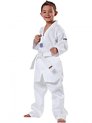 Kwon Song - Traje de taekwondo infantil, Weiß
