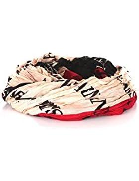 ARMANI JEANS Damen Schal im Geschenkbox 924085 schwarz-kirschrot-puder