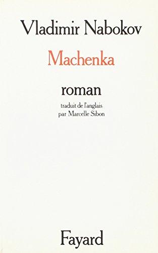 Machenka par Vladimir Vladimirovich Nabokov