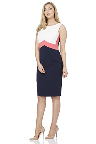 Roman Originals Women's Colour Block Shift Dress