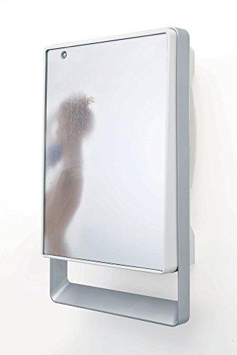 Radialight TBSLI031 Termoventilatore da bagno con specchio e Timer Folio Visio, 1800W
