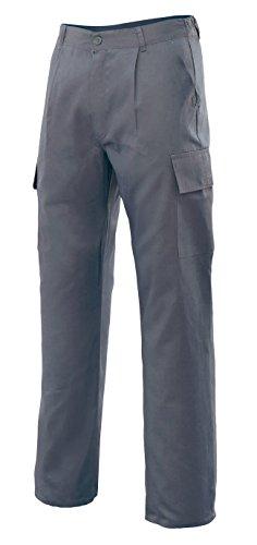 Velilla 31601 - Pantalón multibolsillos (talla 44) color gris