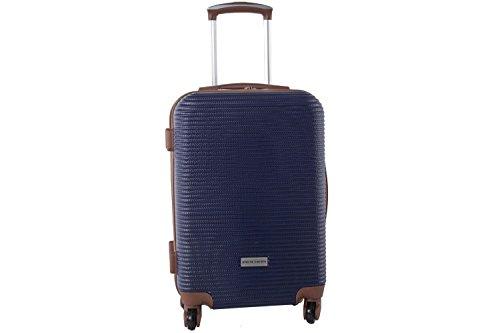 Maleta rígida PIERRE CARDIN azul mini equipaje de mano ryanair S322