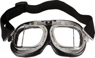 Max Mad 2 Kostüm - Fliegerbrille Brille zum Kostüm Pilot zu Karneval Fasching