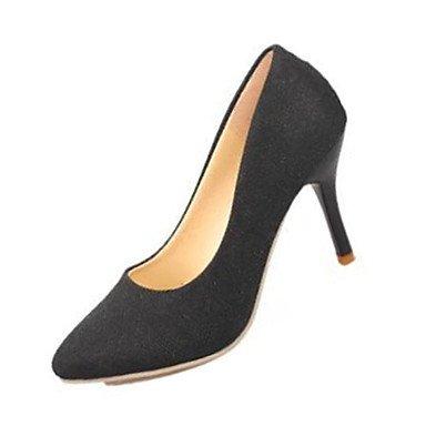 Moda Donna Sandali Sexy donna tacchi tacchi estate pu Casual Stiletto Heel altri nero / rosso / grigio / Oro Altri golden