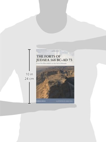The Forts of Judaea 168 BC-AD 73: From the Maccabees to the Fall of Masada (Fortress)