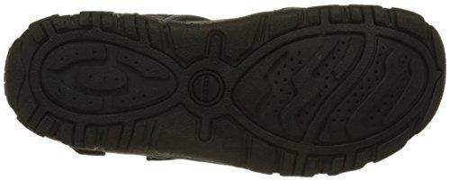 Geox Uomo Strada A, Sandales Bout Fermé Homme Noir (Blackc9999)