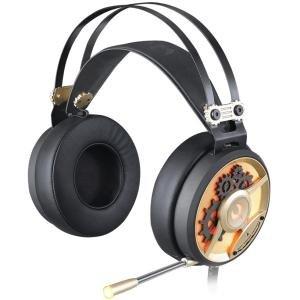 Bloody Gaming M660 MOCI HiFi Gaming-Headset, integriertes Mikrofon, geringes Gewicht, kompatibel mit Plattform-Modellen