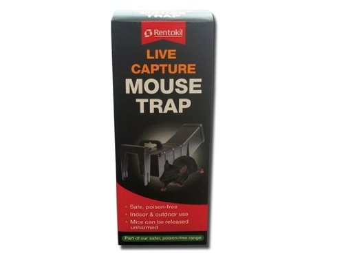 RENTOKILL vivants pièges capture de la souris