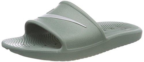 Nike Herren Kawa Shower Dusch-& Badeschuhe, Grün (Clay Greenbase Greyclay Green 301), 44 EU