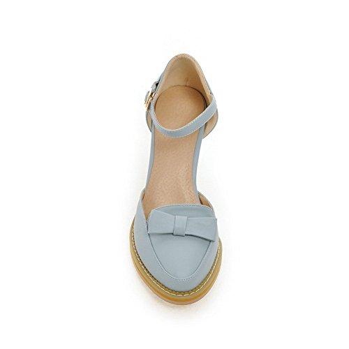 Longra Donne Marea Lace up Toe Sandals Slipsole (EU Size:38, Nero)