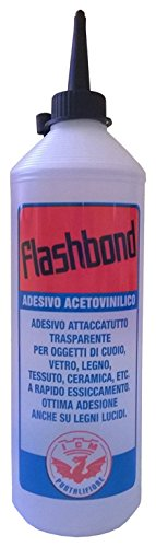 Bricoshopping FlashBond Colla Acetovinilica Attaccatutto Universale Trasparente