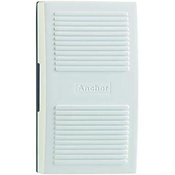 Smart Anchor City Plastic Door Bell (White)