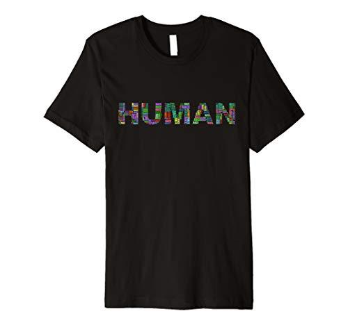 HUMANRACE Gegen Fremdenfeindlichkeit Rassismus Nazis Shirt