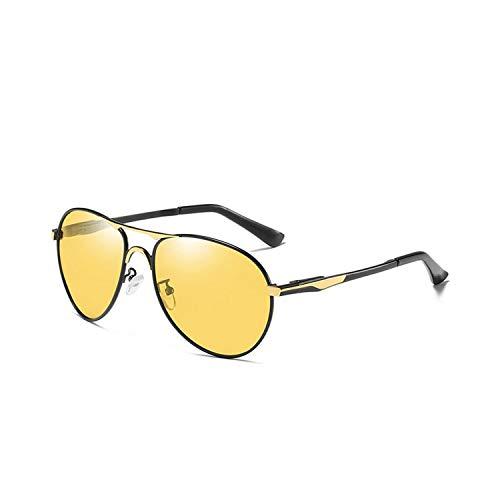 Sports Eyewear, Photochrom Cat Eyes Sunglasses Men Pilot Polarisiert Sun Glasses Retro Aviation Night Vision Glasses For Men's Chameleon Eyewear gold night vision