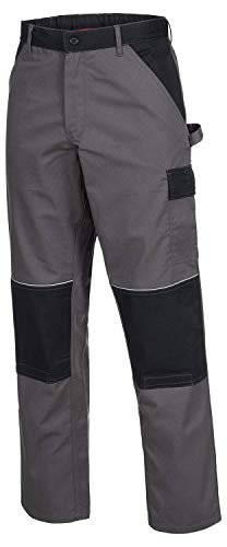 ACE Motion Tex Arbeitshosen Männer - Cargohose mit Gummizug - Grau - Gr 50 - Ace Pant