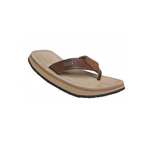 Cool Shoes Deluxe Pi TOBACCO BROWN , Infradito Bianche Sandali Flip Flop Ciabatte Spiaggia - Marrone, 39/40