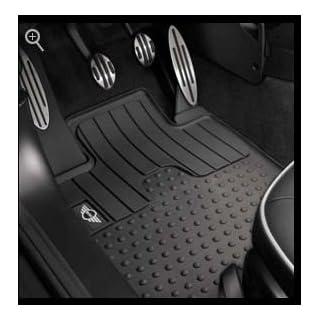 Original MINI Gummifußmatten Fußmatten Allwetter LHD vorne für R55 R56 R57 R58 R59 - BJ 07/11-2013