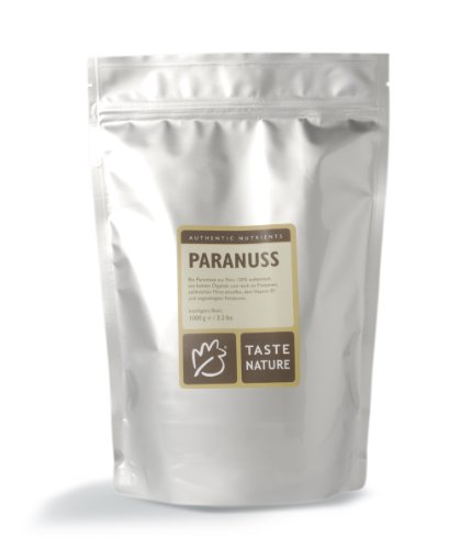 Taste Nature Paranuss Bio, 1er Pack (1 x 1 kg Packung) - Bio