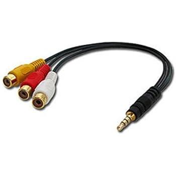 Lindy Câble Adaptateur Audio-Vidéo, 10cm