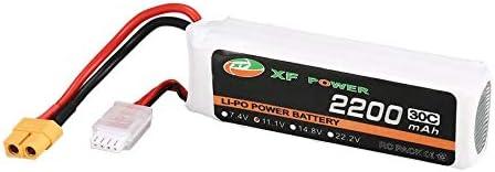 KNOSSOS 11.1V 2200mAh 30C 3S Lipo Battery XT60 for RC Drone Helicopter Car | Dans De Nombreux Styles