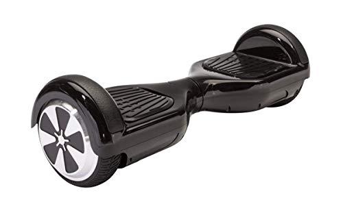 Monopatín Eléctrico - Hoverboard Balance Scooter para Auto-equilibro 6.5'. 500W. Bluetooth, Batería Litio y Autonomía de 15Km. (Negro)