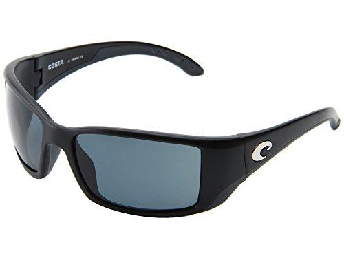 New Original Sunglasses Costa Del Mar BL BLACKFIN 11 Men Black, Grey 580P