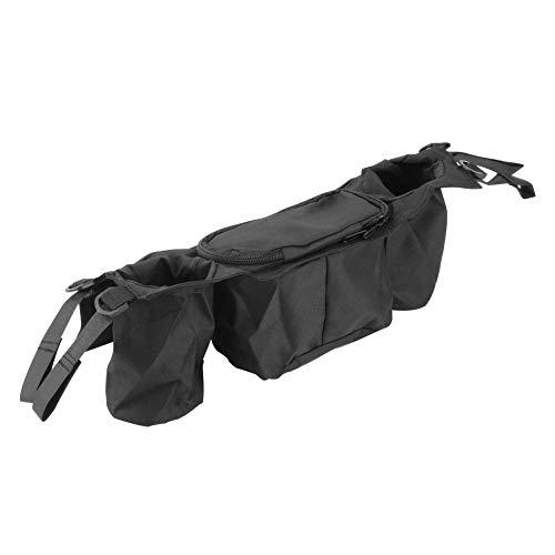 Sen-Sen Cup Bag Kinderwagen Organizer Kinderwagen Kinderwagen Buggy Cart Bottle Bags schwarz -