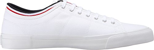 Fred Perry Kendrick Tipped Cuff Canvas Blanc *