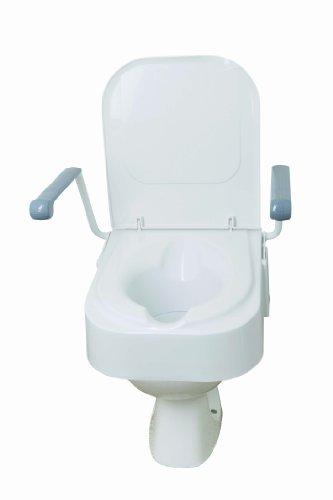 Drive Medical TSE150 Toilettensitz mit Armstützen, erhöht