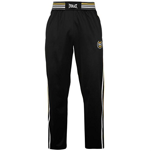 everlast-da-uomo-classic-pantaloni-elasticizzato-pantaloni-sportivi-allenamento-black-yellow-l