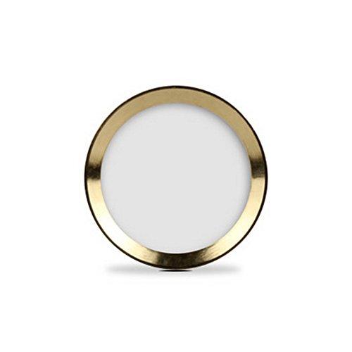 BEH-obiettivo e tasto home sticker (sostegno sistema di identificazione di impronte digitali) per iPhone 5s iPhone 6 Plus iPad Air 2 iPad mini 3 Anello in oro bianco con pulsante