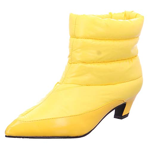 XYXYX Damen Stiefeletten 6508701 gelb 554285