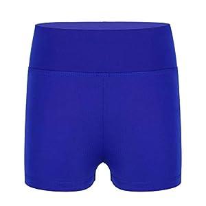 YiZYiF Sporthose Kinder Gymnastikhose Mädchen Turnhose Mädchen Fitness Tanzhose Shorts Pants Kurz Kurzhose