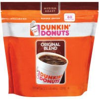 DUNKIN DONUTS ORIGINAL BLEND MEDIUM ROAST GROUND COFFEE 680g MAKES upto 80 CUPS from J M SMUCKER COMPANY