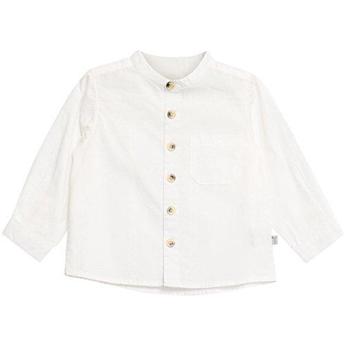 Wheat Baby-Jungen Hemd Shirt Pocket LS, Weiß (White 364), 62 (Herstellergröße: 3m) (Hemd White Pocket)