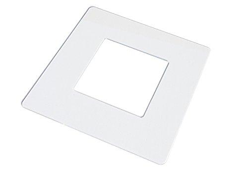 KEKEF Marco decorativo de cristal acrílico simple o de 2, 3, o...
