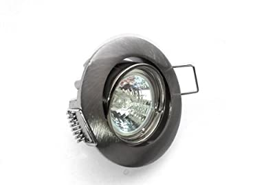3er Set Einbaustrahler Mini Farbe Edelstahl Geb Inkl Mr11 20w Leuchtmittel Trafo