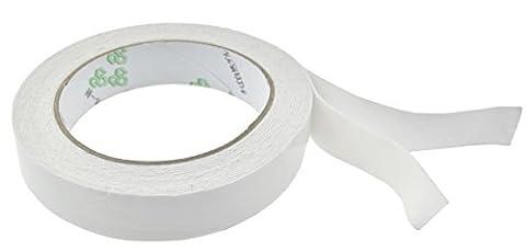 Lot de 2 rubans adhésifs blancs double face en mousse FiveSeasonStuff®, Duct Tape - Grey