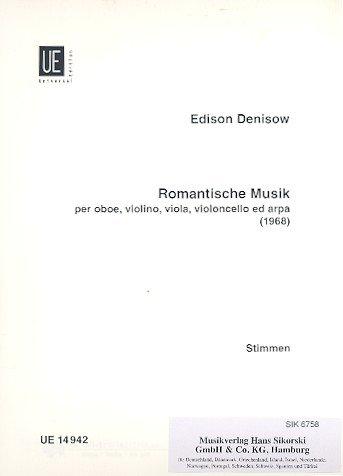 Romantische Musik: für Oboe, Streichtrio und Harfe