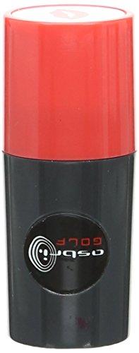 Asbri Golf Tampon marqueur pour balle de golf Motif lèvres Rouge