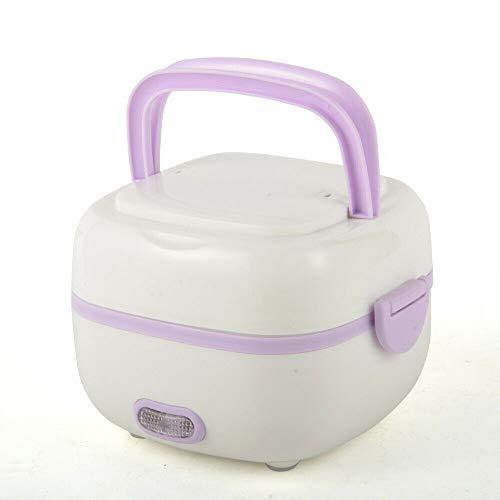 Xian 1L 200W Multifunktionale elektrische Brotdose Mini Reiskocher tragbaren Dampfgarer, Mini Reis kocher mit Warmhaltefunktion