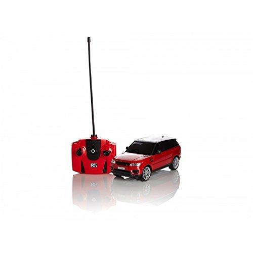 Range Rover Offizielles Sport Rot 1.24 Maßstab RC Auto (Einheitsgröße) (Rot)