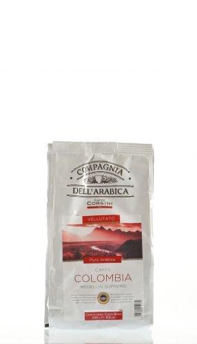 Caffe Corsini Colombia Medellin Supremo, ganze Bohnen, 250 g