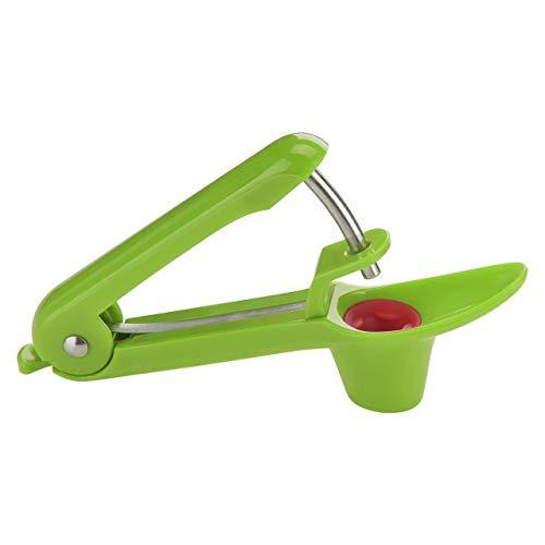 GWCLEO Kirsche und Oliven Pitter, Trauben und Preiselbeeren Obst Corer Pitter Küche Remover Tool-Apple Grün