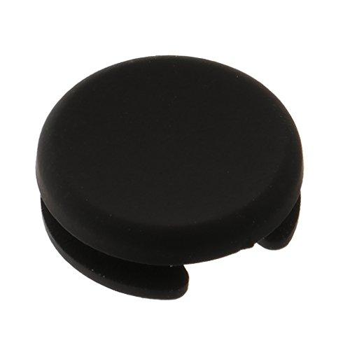 D Dolity Remplacement Cap Bouton de Joystick pour Nintendo 3DS XL/3DS LL/3DS/Nouveau 3DS/Nouveau 3DSLL, pour Réparer Votre Console Perdue ou Cassée - Noir