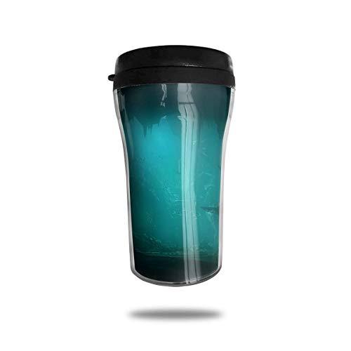 Wärmeisolierung Wasserflaschen Ozeane Unterwasserhaie Reise Tumbler Mug Cup W/Deckel isoliert heiß oder kalt