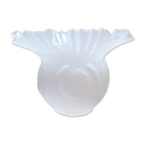 Tulipa de cristal Alcazaba mate 10x15cm con boca de 5 cm LB 529587